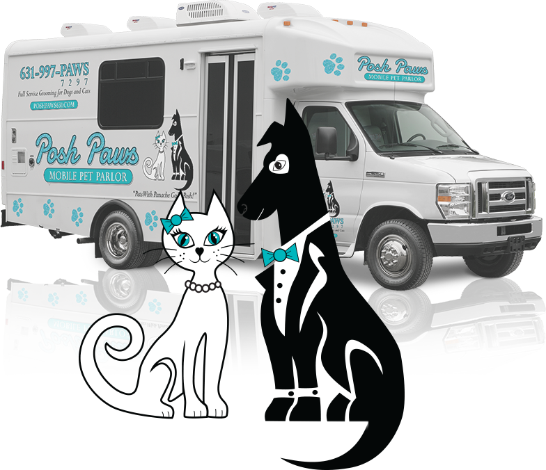 Admirable Posh Paws Mobile Pet Parlor Coming Soon To A Driveway Near Home Interior And Landscaping Analalmasignezvosmurscom